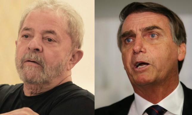 Resultado de imagem para bolsonaro lula