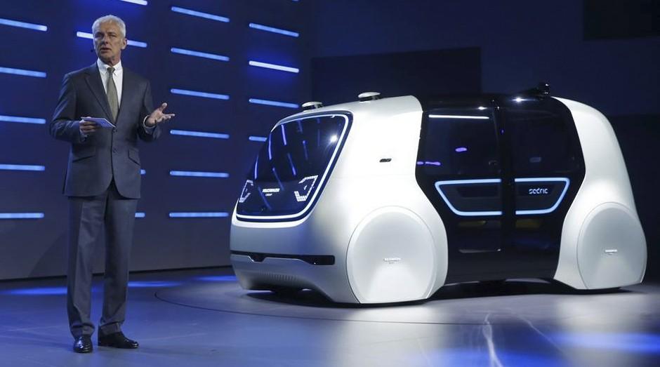 Veículos autônomos vão liberar mais de 250 milhões de horas de deslocamento dos consumidores por ano nas cidades (Foto: Divulgação)