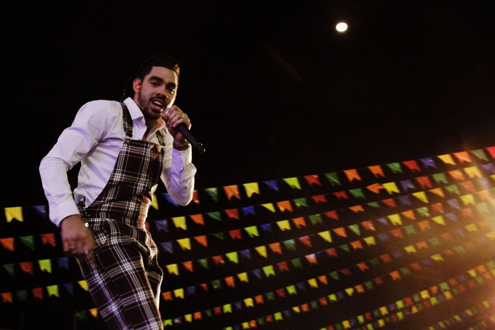 Gabriel Diniz é atração confirmada no Mossoró Cidade Junina 2018 (Foto: Renand Zovka/PMC)