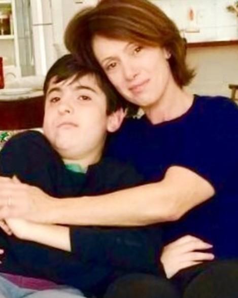 Bel Kutner com o filho (Foto: Reprodução Instagram)