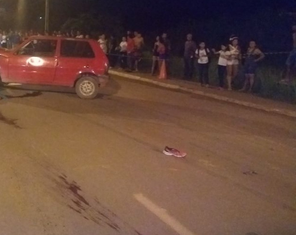 Mulheres morreram em acidente na noite desta ter�a (8). Suspeita � que elas tenham sido atropeladas (Foto: Divulga��o/BPTrans)