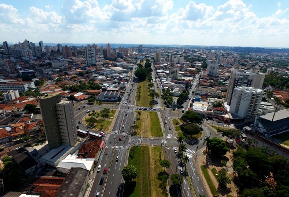 Marília ultrapassou os 240 mil habitantes, segundo levantamento do IBGE — Foto: Prefeitura de Marília/ Divulgação