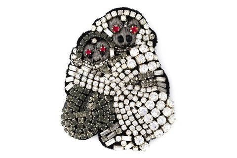 Broche Nº21, R$ 370 na Farfetch