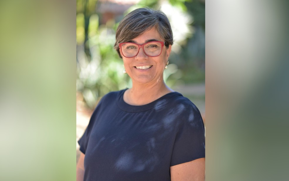 Maria Ester é candidata da Rede Sustentabilidade para a Prefeitura de Goiânia, Goiás — Foto: Rede Sustentabilidade/Divulgação