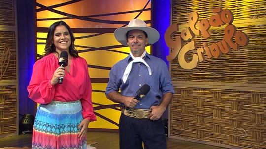 'Galpão Crioulo' reapresentou a primeira parte do especial 'O Grande Encontro'; reveja