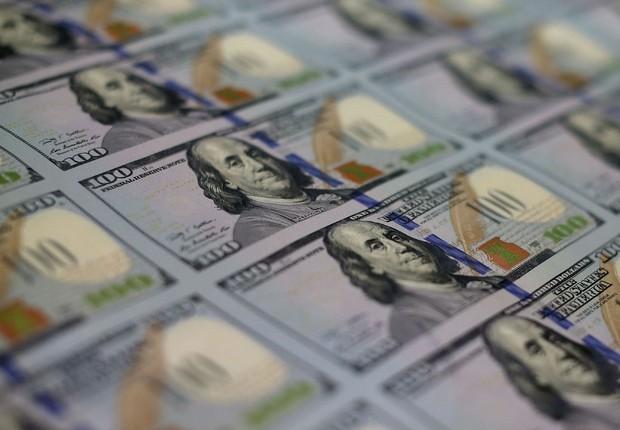 Dólar ; dólares ; câmbio ; repatriação ; estudar no exterior ; moeda norte-americana ; investimento ;  (Foto: Mark Wilson/Getty Images)