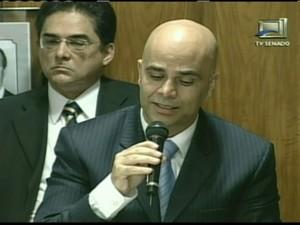 Marcos Valério (Foto: globo news)