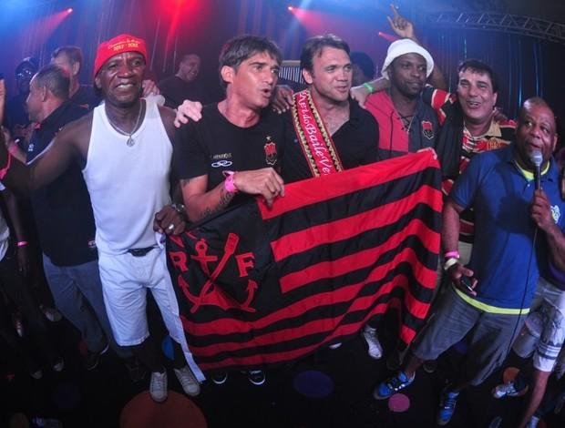 Ídolo do Flamengo, Petkovic comanda Baile Vermelho e Preto