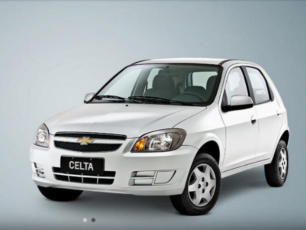 Chevrolet Celta 2015 (Foto: Reprodução)