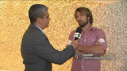 Lugano fala sobre datas dos jogos do São Paulo na Copa do Brasil e chegada de Aguirre