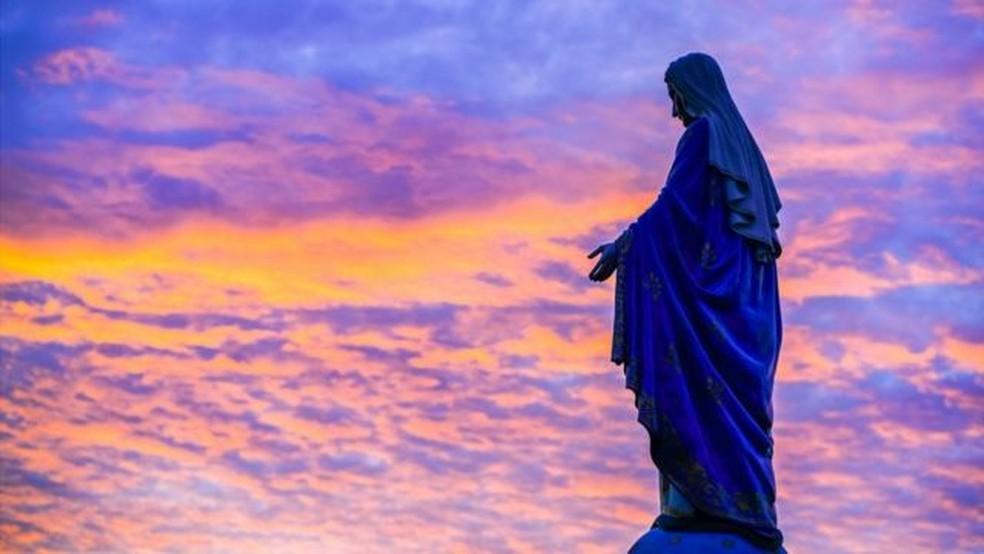 Há mais de mil representações da Virgem Maria — Foto: Getty Images