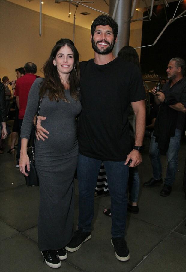 Dudu Azevedo e Fernanda Mader  (Foto: Wallace Barbosa/AgNews)