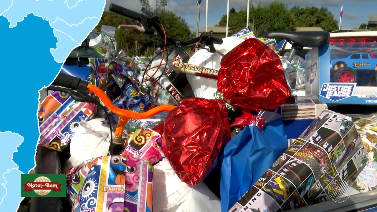 Campanha Natal do Bem entrega donativos a instituições no estado