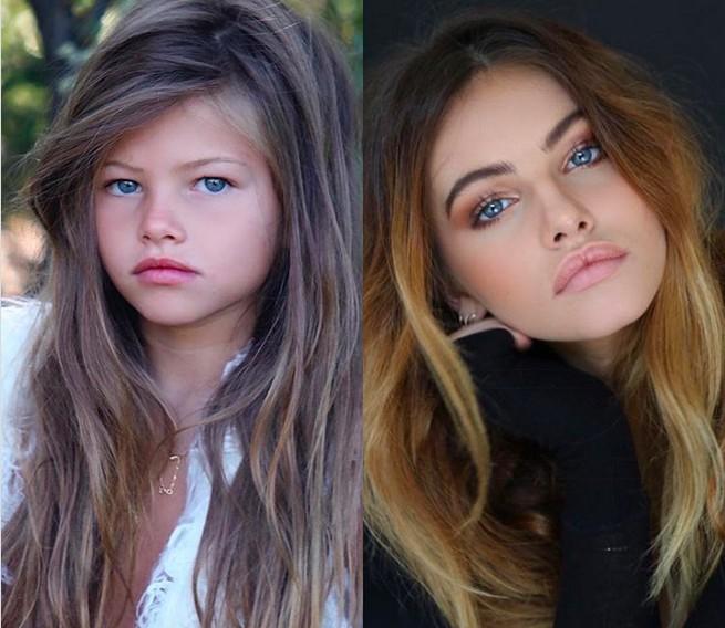 Modelo Que Foi Eleita Menina Mais Bonita Do Mundo Aos 6