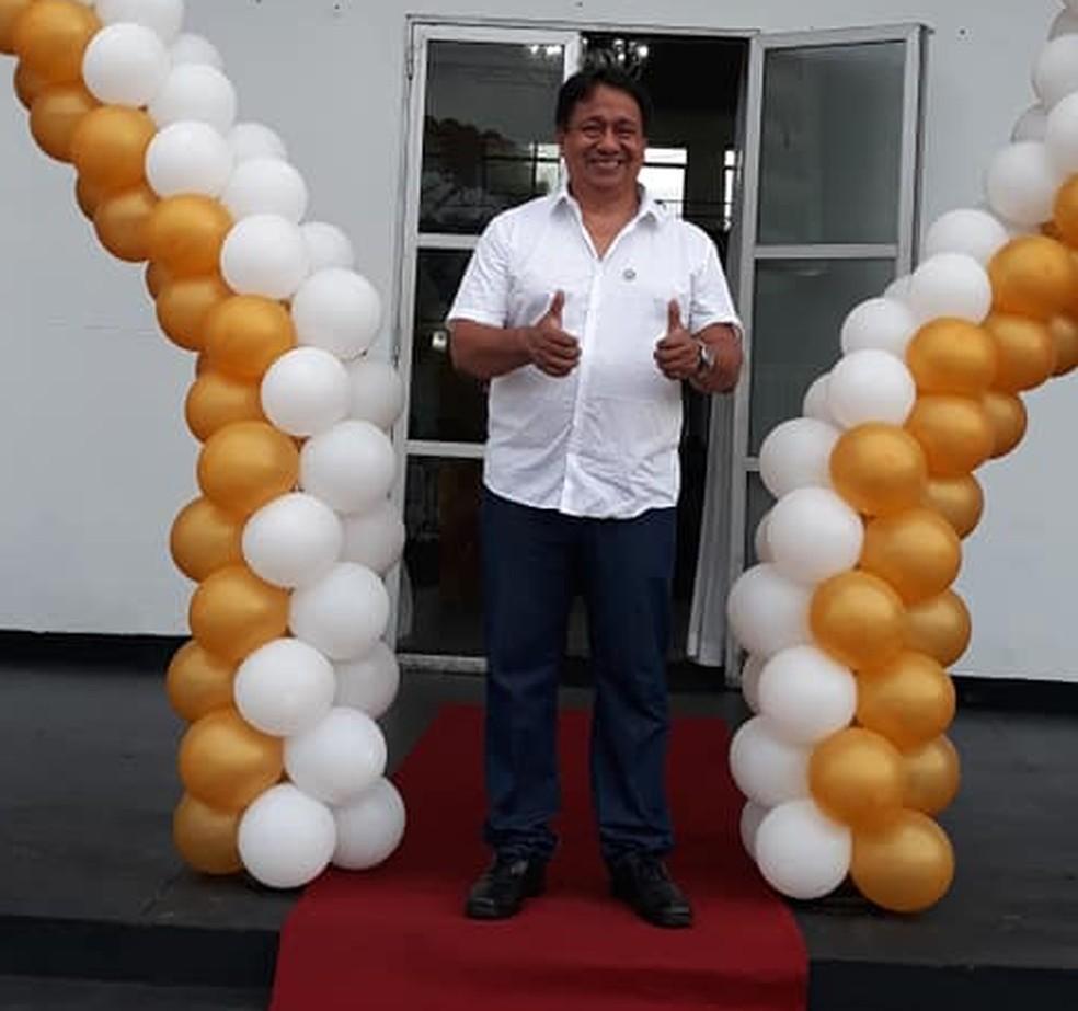 Jefferson Oliveira é presidente do Rio Negro desde o início de 2019 — Foto: Divulgação/Rio Negro