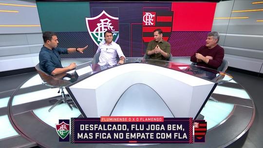 """""""Fluminense tem mais padrão de jogo do que o Flamengo"""", diz André Rizek"""