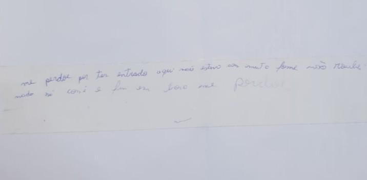 Ladrão invade escola, faz comida e deixa bilhete pedindo perdão: 'Só comi e fui embora' - Notícias - Plantão Diário