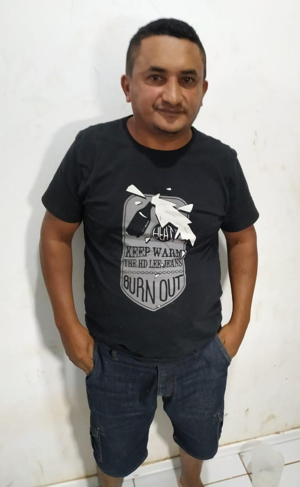 Charleylson Bezerra da Silva preso em Zé Doca por crimes de estelionato — Foto: Divulgação / Polícia Civil
