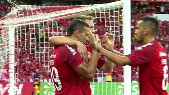 Inter engata terceira vitória seguida, mas cobra evolução até Libertadores