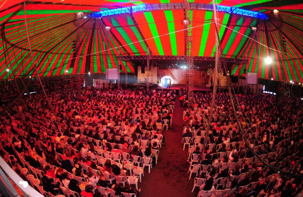 Tradicional evento estava em sua 17ª edição; em 2015, jornada foi sucesso de público — Foto: Jornada Nacional de Literatura/Divulgação