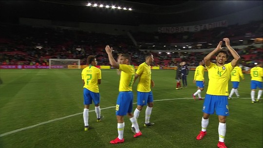 Seleção Brasileira venceu a República Tcheca por 3 x 1 no amistoso internacional