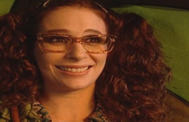 Andréa Beltrão era a Garota TPM. Seu humor mudava no ciclo menstrual (Foto: Divulgação)