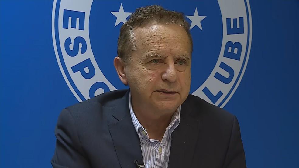 Vittorio Medioli - CEO do Cruzeiro — Foto: TV Globo/Reprodução