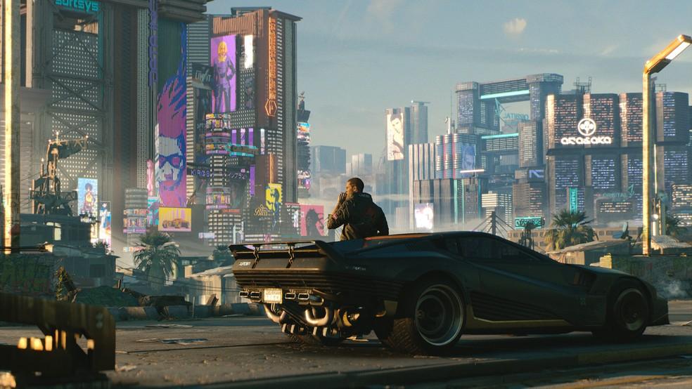 Cyberpunk 2077 promete ser um dos principais games do ano — Foto: Divulgação/CD Projetk RED