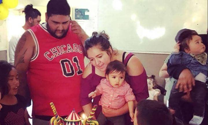 Lorenzo e os pais (Foto: Arquivo pessoal)