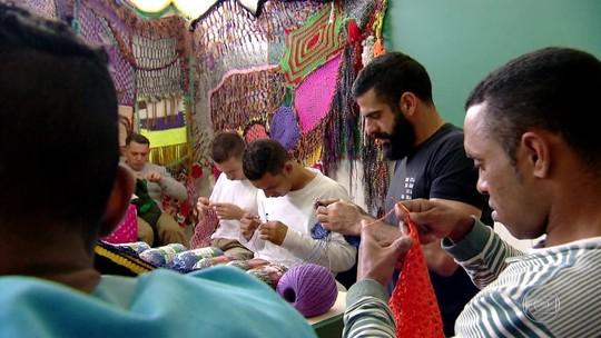 Penitenciária usa crochê para ocupar detentos em SP