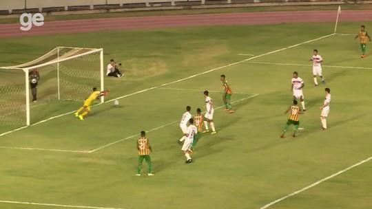 River-PI cede virada ao Sampaio, e vaga na semifinal do Nordestão sub-20 depende de milagre