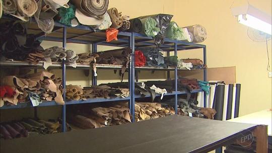 Polícia busca ladrões que deixaram prejuízo de R$ 250 mil após furto de couro em fábricas de Franca