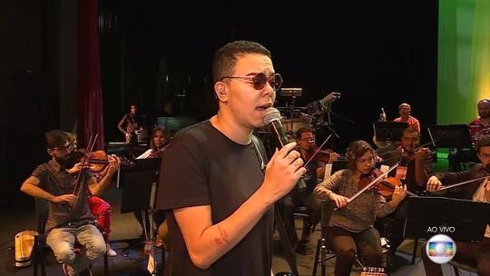 Cantora Maria Gadú faz show com a Orquestra de Câmara Opus em BH