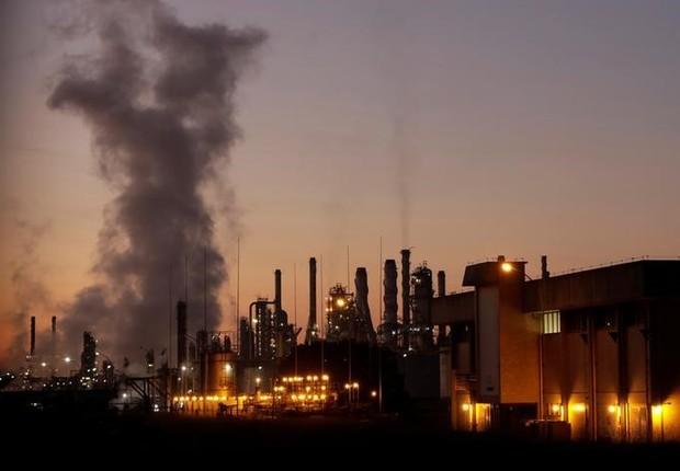 Visão geral da refinaria da Petrobras em Paulínia (Foto: Paulo Whitaker/Reuters)