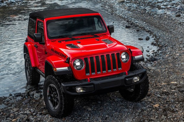 Jeep Wrangler 2018 (Foto: Divulgação)