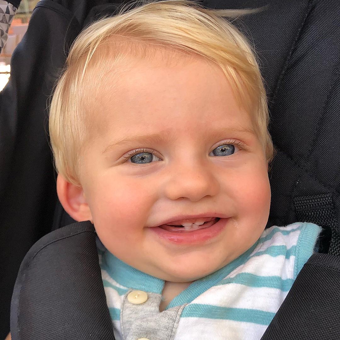 Enrico Bacchi, filho de Karina Bacchi, está perto de completar 1 ano (Foto: Reprodução / Instagram)