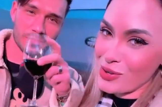 Sarah Andrade e Lucas Viana (Foto: Reprodução)