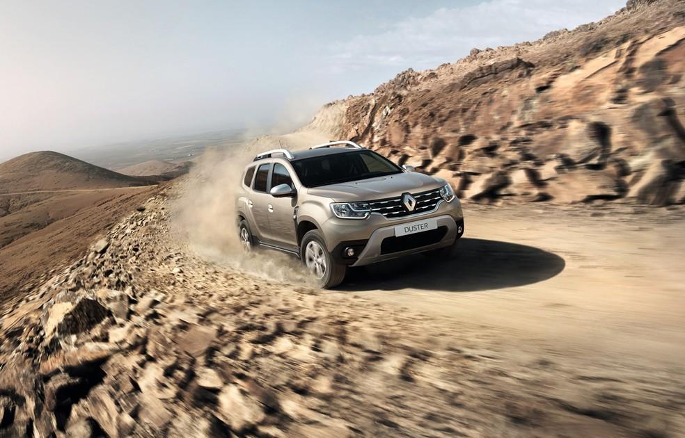 Nova geração do Renault Duster — Foto: Divulgação