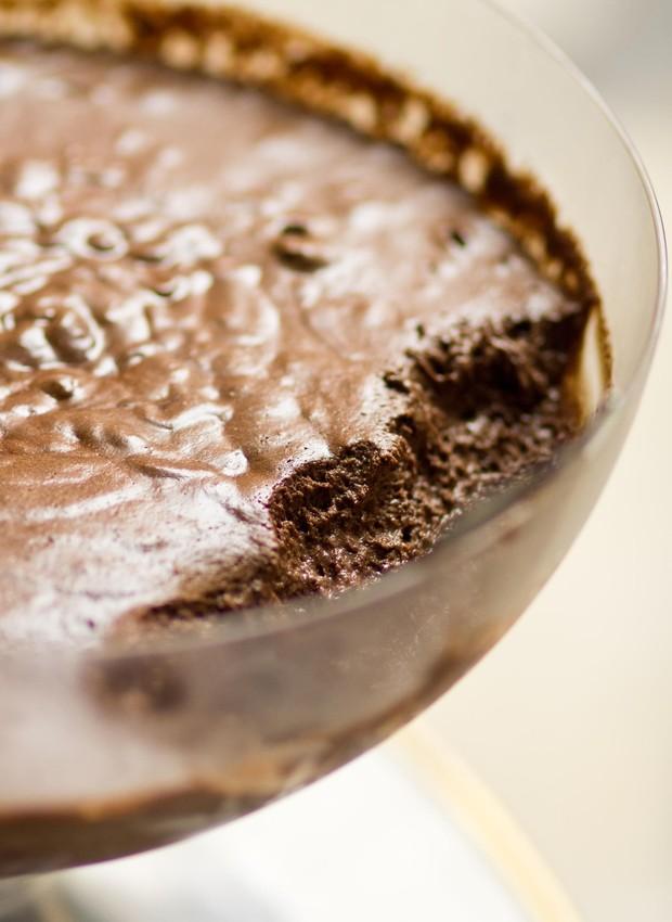 Mousse de chocolate  (Foto: Henrique Peron/Divulgação)