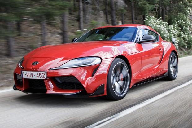 Novo Toyota Supra tem projeto compartilhado com o BMW Z4 (Foto: Divulgação)