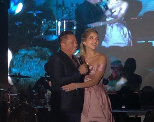 Leonardo e Lyandra Costa (Foto: Reprodução/Instagram)