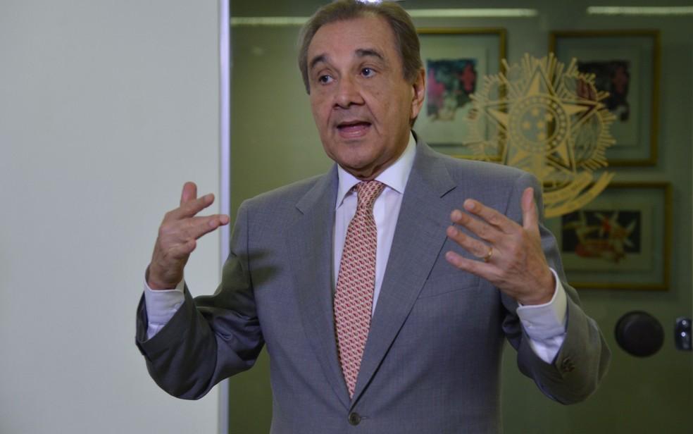 Ex-senador José Agripino Maia — Foto: Antônio Cruz/Agência Brasil