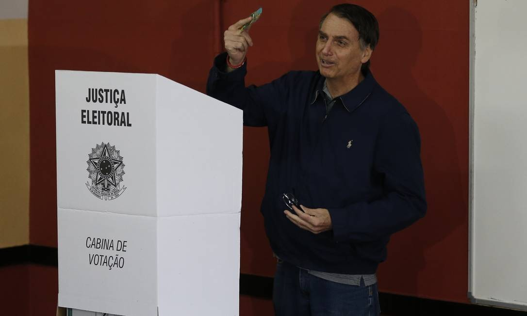 Bolsonaro diz que não tem nada a ver com a crise e nem ele votou em si mesmo