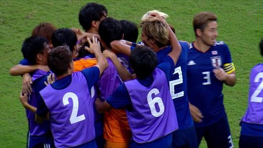 Assista aos gols da derrota da Seleção pré-olímpica para o Japão