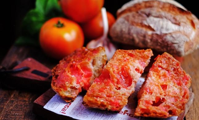 Pão com tomate do Venga