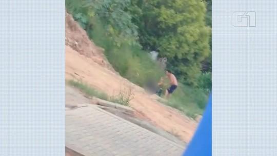 Homem é preso após agredir mulher em Ponta Grossa; VÍDEO