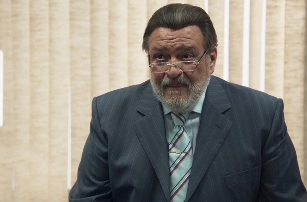 Gustavo conta que est a par do caso Foto TV Globo