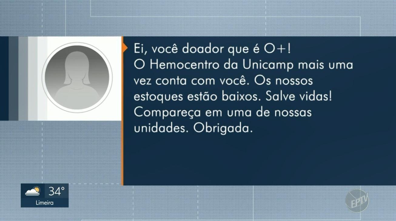 Hemocentro tem queda de até 30% nas doações e usa áudio no Whatsapp para convidar doadores - Notícias - Plantão Diário
