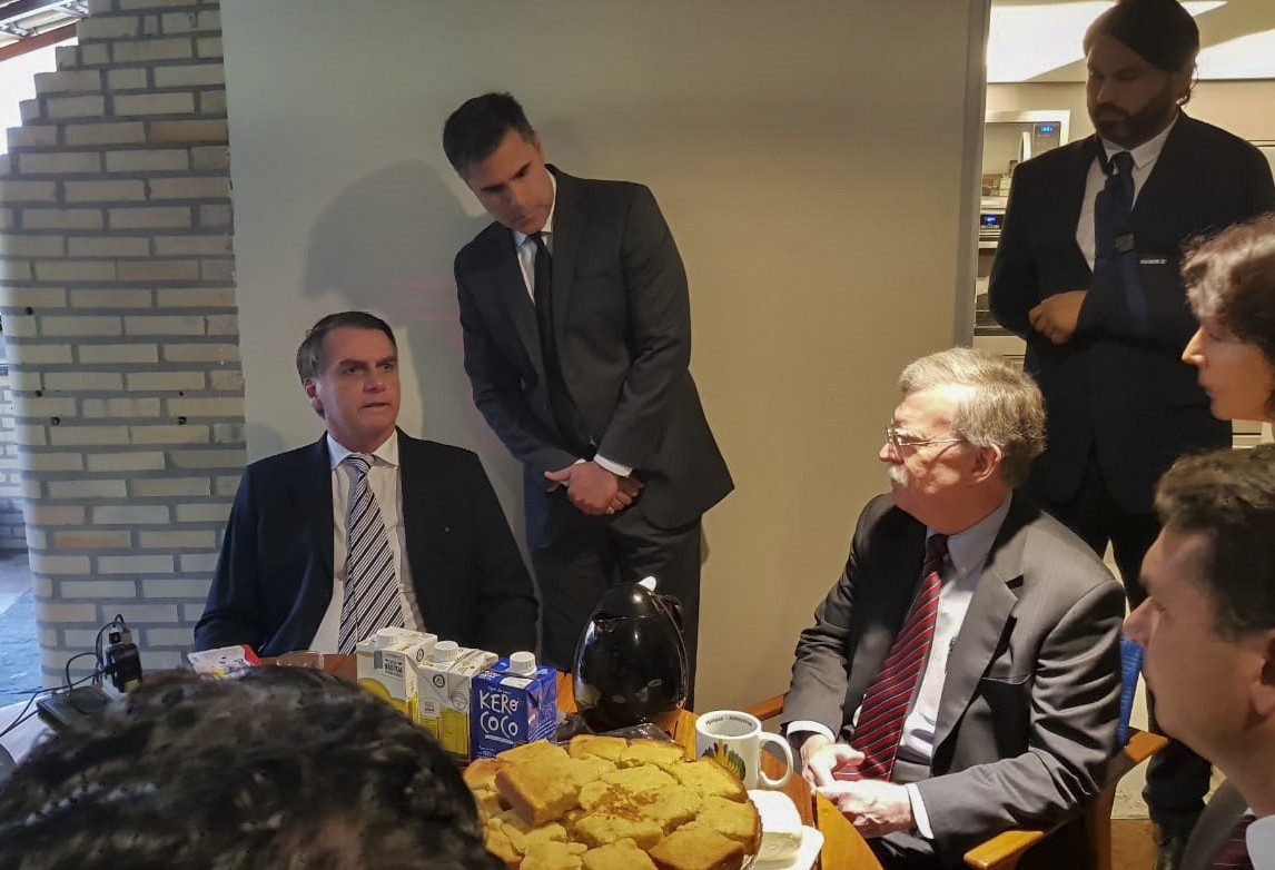 John Bolton e Bolsonaro