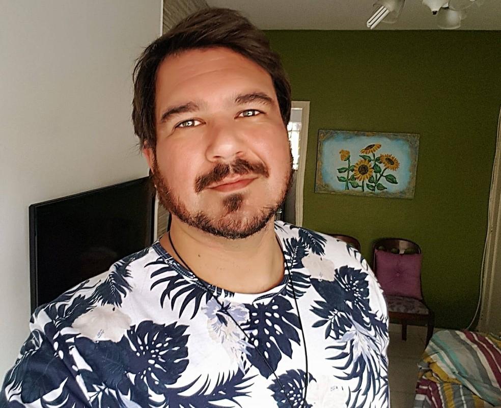 Publicitário Victor Darmo morreu por complicações da Covid-19 — Foto: Reprodução/Redes Sociais
